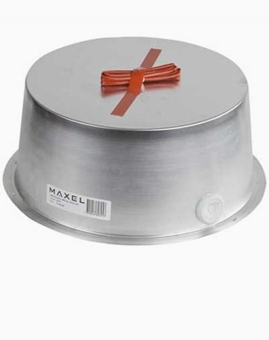 MAXEL Sikkerhetsboks 180 aluminium. Høyde 85