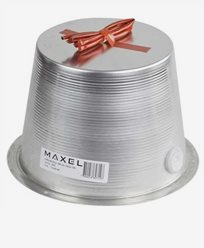 MAXEL Sikkerhetsboks 200 aluminium. Høyde 150