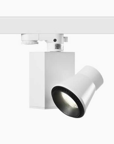 MAXEL CROSBY 3-fas 1000lm 24° vit. 180°. 12,6W / 230V LED