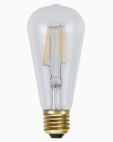 Star Trading Decoration LED Klar Edison E27 2200K 140lm Dimbar 1,5W (15W)