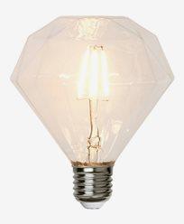 Star Trading Illumination LED filament Diamant E27 3,2W (30W) Dimmerkomp.