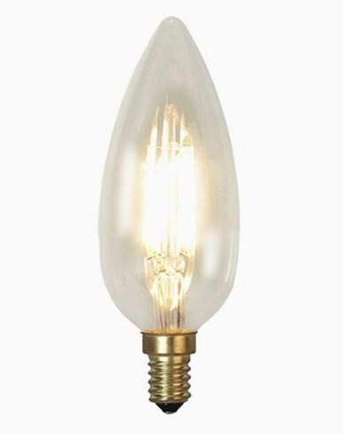 "Decoration LED Klar filament lampa E14 ""kyrklampa"" 3,2W"