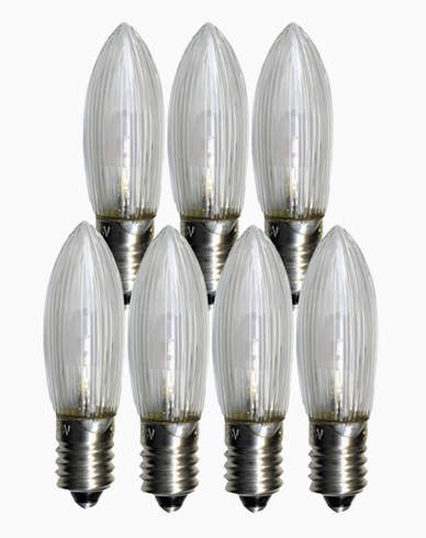 Star Trading Universal LED pærer E10 23-55V. 7-pakk