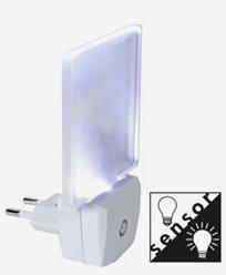 Star Trading Illumination LED Nattlys Frostet EUR plugg 0,5W 5lm