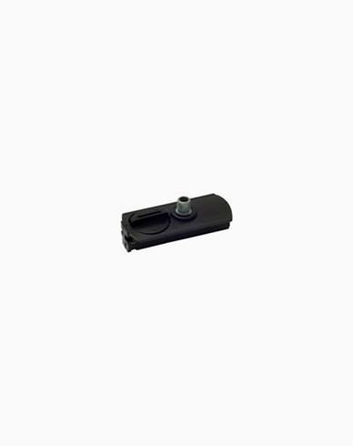 MAXEL 1-fas adapter svart inkl. nippel