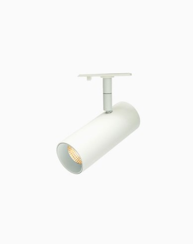 MAXEL Tube mini 1-fas LED spot 8W 827 36° vit
