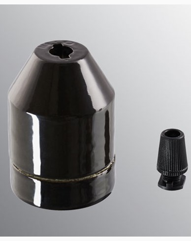 Ifö Electric KLACK pendel svart, utan sladd. IP20, E27