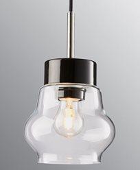 Ifö Electric EMMA Pendel svart/svart IP20, E27, max 60W, 2m