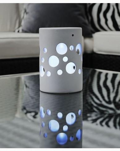 Konstsmide Genova solcellelampe hvit