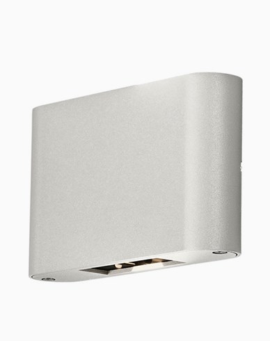 Konstsmide Chieri vegglampe 2x6W LED justerbar 7854-250 Hvit