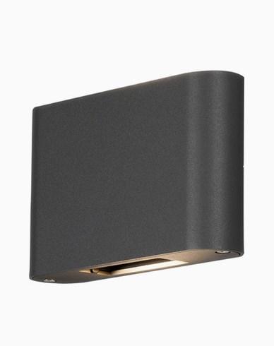 Konstsmide Chieri vägglampa 2x6W LED justerbar 7854-370 Mörkgrå