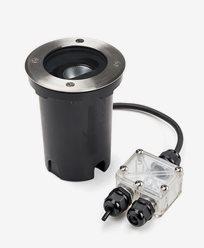 Konstsmide Markspot 230V 5W LED justerbar spridning 7856-310