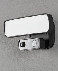 Konstsmide Smartlight 18W svart, Kamera, høyttaler. Mikr, Wifi