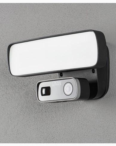 Konstsmide Smartlight 18W svart, Kamera, Högtal. Mikr, Wifi
