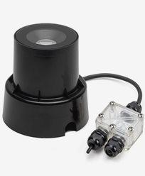 Konstsmide Inbyggd markspot 6W HP LED svart/glas topp