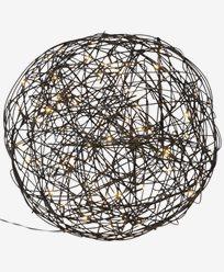 Star Trading Utendørs dekorasjon TRASSEL Ø37,5cm. 100st LED
