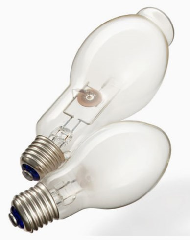 Narva Metallhalogenlampa Elipps 70W E27 Opal Ersätter 80W HQ/V. Monteras Vertikalt