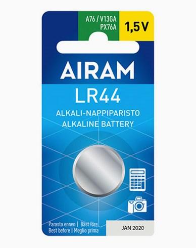Airam LR44 (A76) 1,5V alkalisk knappebatteri