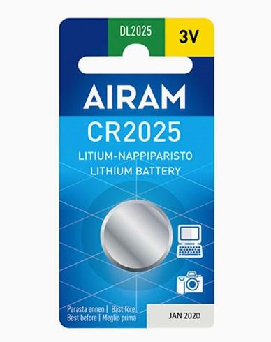 Airam CR2025 3V litium knappbatteri