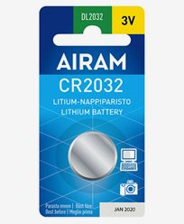 Airam CR2032 3V litium knappbatteri