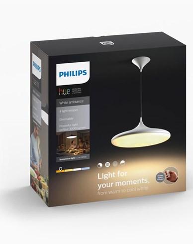Philips Hue Cher pendant white 1x39W 24V. Inkl switch