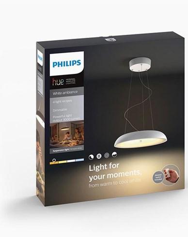 Philips Hue Amaze pendant white 1x60W 230V. Inkl switch