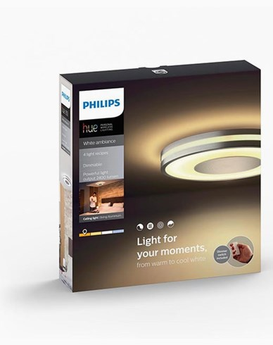 Philips Hue Being ceiling lamp BT aluminium 1x32W 230V