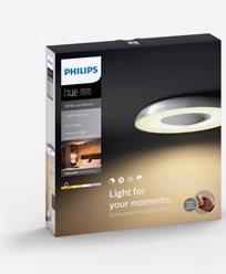 Philips Hue Still ceiling lamp aluminium 1x40W 230V