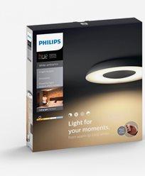 Philips Hue Still ceiling lamp black 1x40W 230V