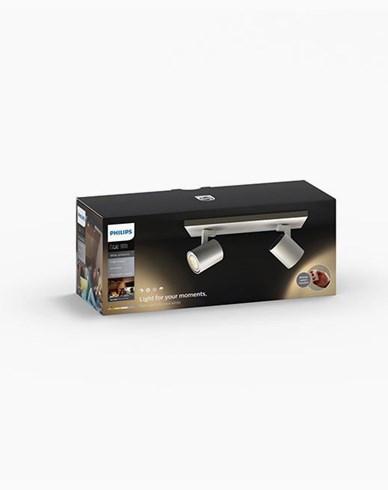 Philips Hue Runner bar/tube white inkl switch 2x5.5W 230V