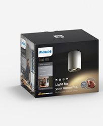 Philips Hue Pillar single spot white inkl switch 1x50W 230V