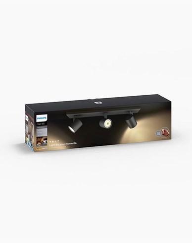 Philips Hue Runner bar/tube black inkl switch 3x5.5W 230V