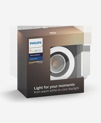 Philips Hue MILLISKIN recessed round alu 1x5.5W 230V (without remote)