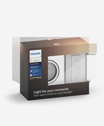 Philips Hue MILLISKIN recessed square white 1x5.5W 230V (with remote)