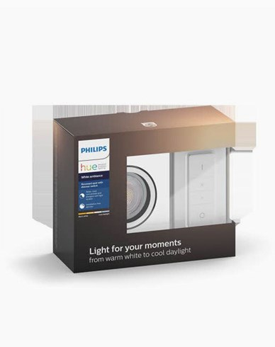 Philips Hue MILLISKIN recessed square white 1x5.5W 230V