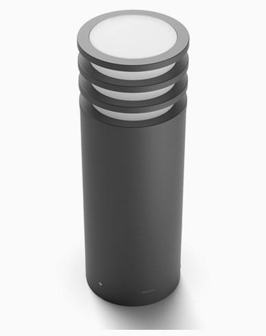 Philips Hue Lucca Utendørs Lav Sokkellampe anthracite 1x9.5W 230V