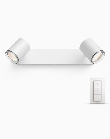PHILIPS HUE WHITE AMBIANCE ADORE SPOT 2X5W. IP44