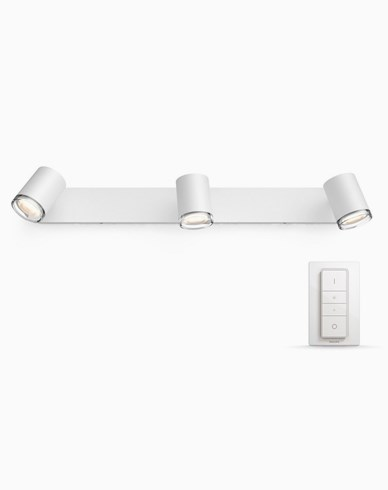 PHILIPS HUE WHITE AMBIANCE ADORE SPOT 3X5W. IP44