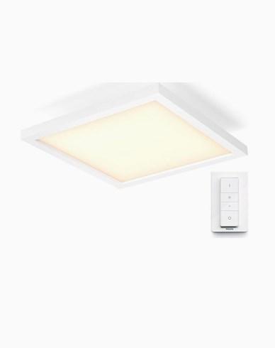 Philips Hue AURELLE White ambiance Firkantig liten plafond