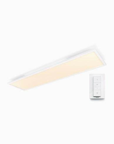 Philips Hue AURELLE White ambiance 55W Rektangulär plafond