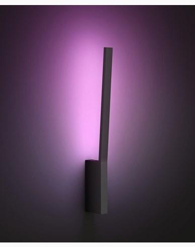 Philips Hue LIANE Vegglampe Svart 20W White Ambiance Color