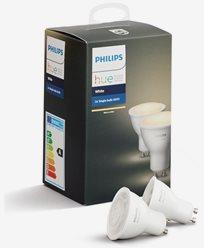 Philips Hue White 5.5W GU10 300lm 2-pakke
