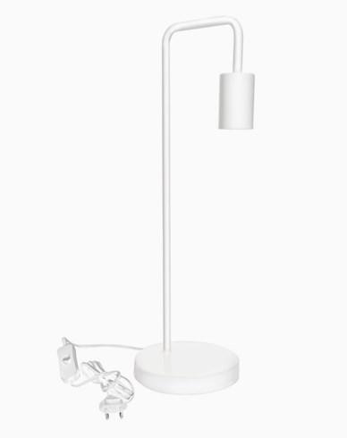 Airam Nita Bordslampa E27 Vit