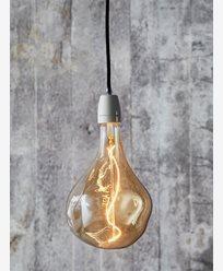VORONOI II LED filamentpære, 3W E27