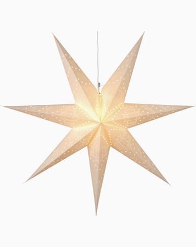 Star Trading Mönstrad Guldfärgad Pappersstjärna Sensy