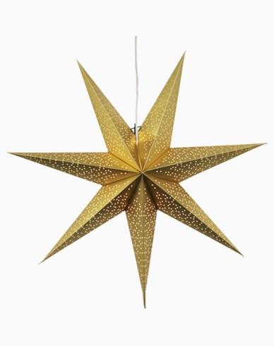 Star Trading Mönstrad Vit Pappersstjärna DOT. 70cm