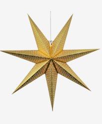 Star Trading Mönstrad Vit Pappersstjärna DOT. 100cm