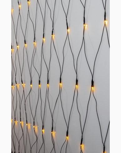 Star Trading Lysnett Serie LED Golden Warm White. 3x3m