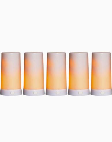 Star Trading LED-blokklys Diner. 5 ekstra LEDlys