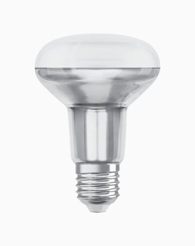 Osram LED-pære R80 E27 60° 4,3W/827 (32W)